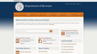 Department of Revenue - Georgia.gov