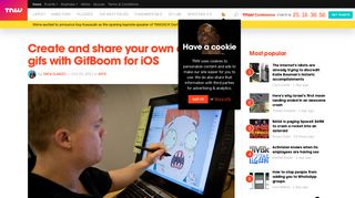 Create and share your own animated gifs with GifBoom for iOS - The ...