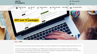 Glide, Wifi and TV Package | Unite Students