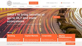 SWIFT – The global provider of secure financial messaging services