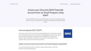 Account login gmx Mail app:
