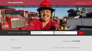 Jobs - Careers at Halliburton