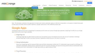 Step by Step Guide for Google Apps Single Sign On   SSO   SAML ...
