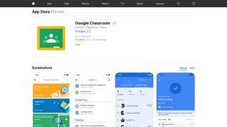 Google Classroom on the App Store - iTunes - Apple