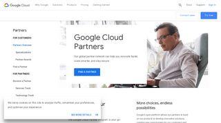 Partner Network   Google Cloud