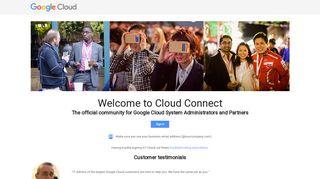 Google Cloud Connect
