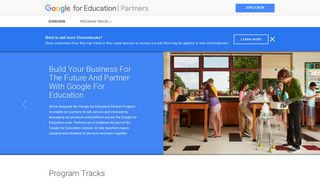 Google for Education: Partners