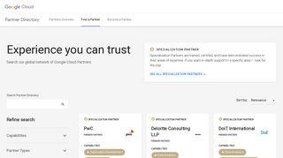 Partners - Google Cloud