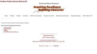 Parent Forms and Links - Grafton Public School District #3