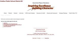 Registration - Grafton Public School District #3