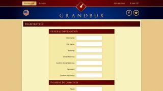 Grandbux - One Step Ahead