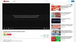 Grandbux,Earn Unlimited Free Money Online - YouTube