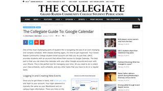 The Collegiate Guide To: Google Calendar - The Collegiate Live