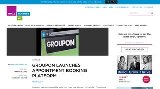 Groupon Launches Appointment Booking Platform   Small Business BC