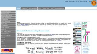 ELLC - East London Lettings Company - Home Page