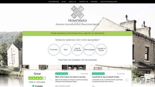 Halifax Conveyancing Solicitor Quote | Homeward Legal