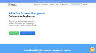 Happay: Automated Business Expense Management Software