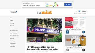 HDFC Bank app glitch: You can download older version from today