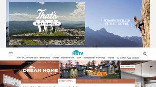 HGTV Dream Home FAQ - HGTV.com