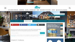 HGTV Smart Home Sweepstakes - HGTV.com
