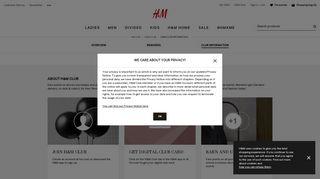 H&M Club Information