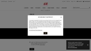 Register | H&M Great Britain