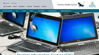 Student Information System (SIS)   Holmes Middle School
