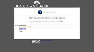 Hometown Bank Alabama - Online Banking - myebanking.net