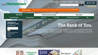bankHometown | bankHometown is a full-service community bank with ...