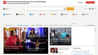 MSN   Outlook, Office, Skype, Bing, Breaking News, and Latest Videos