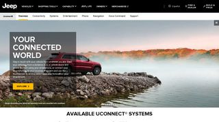 Jeep Uconnect - Connected Driving, Evolved