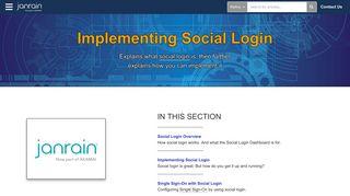 Implementing Social Login   Akamai Identity Cloud Education Center