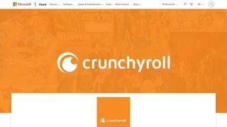 Get Crunchyroll - Microsoft Store