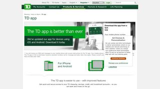 TD Canada Trust | Mobile Banking
