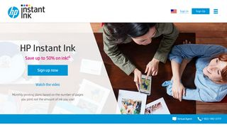 HP Instant Ink | HP® Official Site - Sign up here