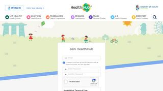 Sign Up - HealthHub