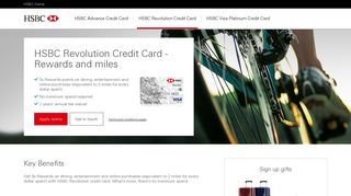 HSBC Credit Cards | Welcome Gift | HSBC Singapore