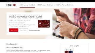 chl advance | HSBC Singapore