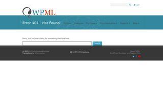 500 Internal Server Error on wp-admin Dashboard - WPML