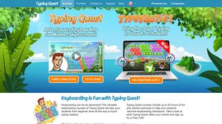 Typing Quest - Keyboarding is an Adventure!