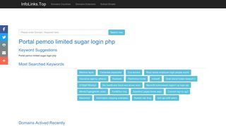Portal pemco limited sugar login php Search - InfoLinks.Top