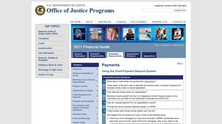 Office of Justice Programs   Financial Guide