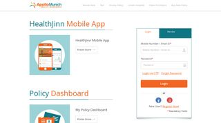 Apollo Munich | Access/ Update Policy details | Renew Your Policy ...