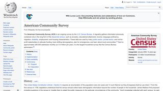 American Community Survey - Wikipedia
