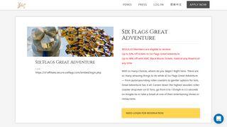 Six Flags Great Adventure - Regulus Club