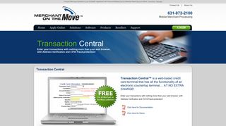 Transaction Central - Merchant on the Move