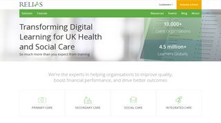 Relias Learning: Digital Learning for UK Health and Social Care