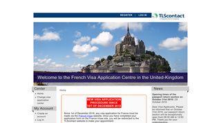 Application Process - TLScontact centre