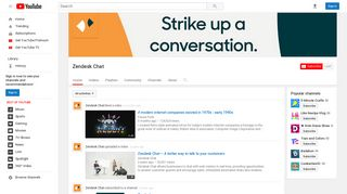Zendesk Chat - YouTube