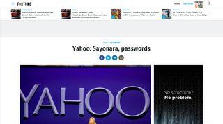 Login yahoo com au Yahoo is